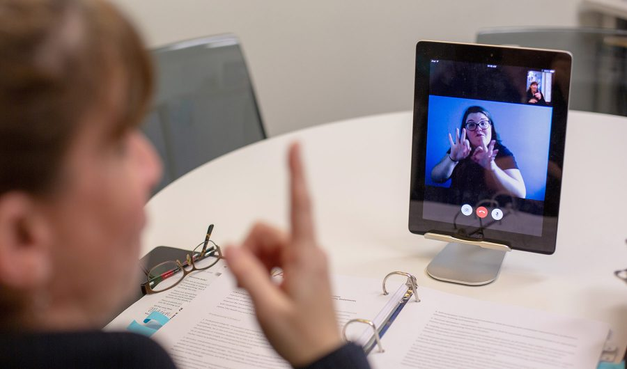 Video Remote Interpreting (VRI)