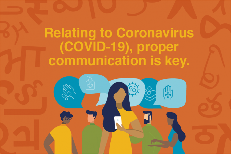 Relating to Coronavirus (COVID-19), Proper Communication is Key