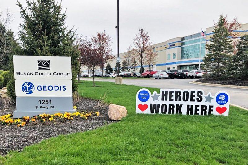 Aquí trabajan héroes