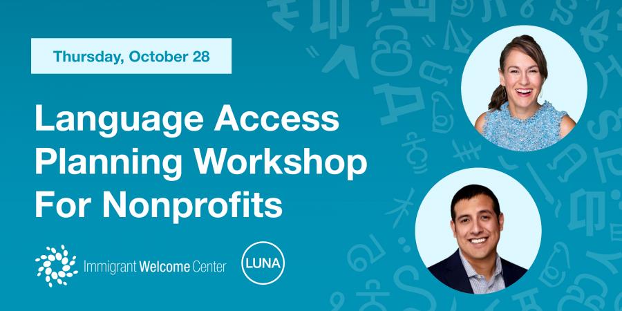 Language Access Planning Workshop for Nonprofits