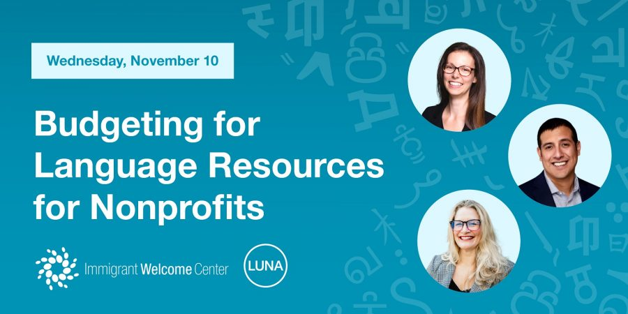 Budgeting for Language Resources for Nonprofits
